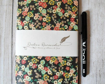 Little Flowers travel notebook