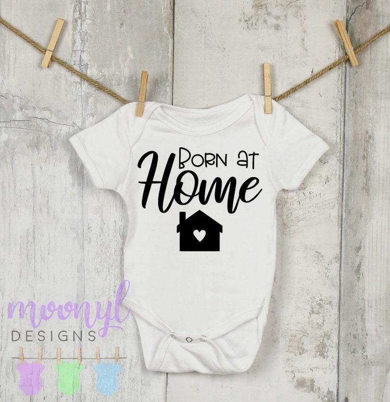 Home Birth Clothing Crunchy Mom Natural Birth Onesie\u00ae Home Birth Born At Home Onesie\u00ae Crunchy Mama Home Birth Baby Clothing