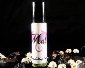 Vegan Perfume - Gifts for Her - Gothic Gifts - Perfume Oil - Fragrance Oil - Rollon Perfume - Organic Perfume - Bath and Body -  Mal