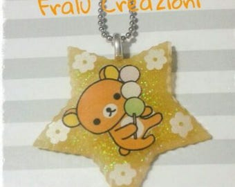 Star shaped resin Necklace