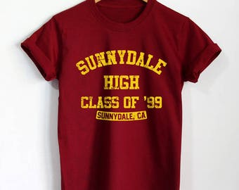 Sunnydale High Shirt Buffy T-Shirt Vampire Tshirt Unisex Clothing Top Tee