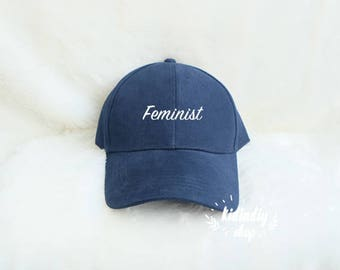 e08dc5fe23d Feminist Baseball Hat Embroidered Baseball Caps Women Against Trump Cap  Nasty Woman Cotton Hats Pinterest Instagram Tumblr