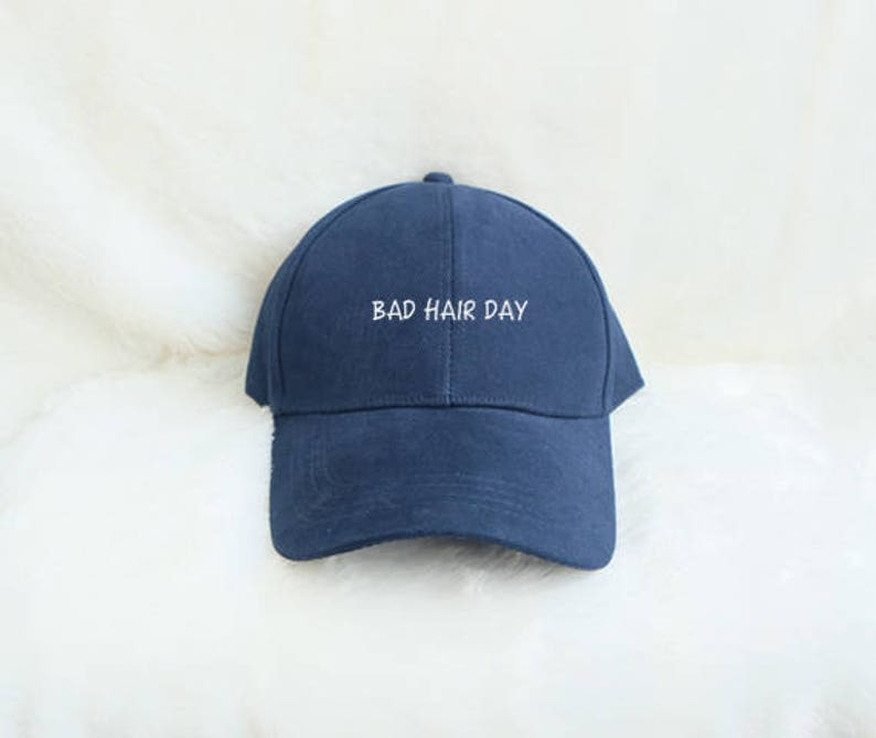 Bad Hair Day Baseball Hat Embroidered Baseball Caps Hipster  7691c57c953