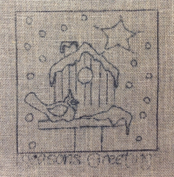Winter Visitor From Joan Moshimer's Studio Rug Hooking