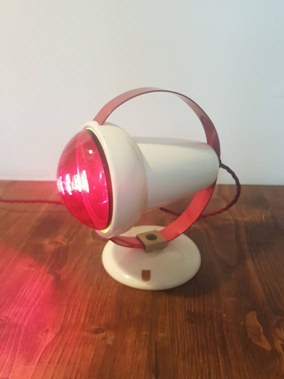 1950s/1960s Phillips Infraphil desk lamp: rewired and in great condition