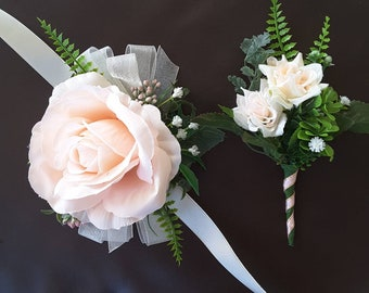 Prom Corsage And Boutonniere Etsy