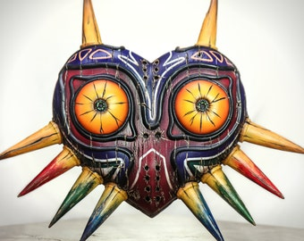 Zelda inspired Majora's Mask (Painted, Full Mask)