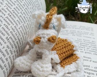 Plush Bookmark: Dream Pony Gold