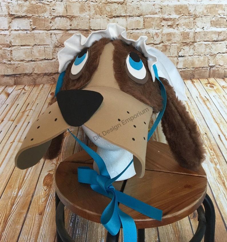 59f7da2b632 Nana Dog Costume Hat Dog Hat Peter Pan Inspired Costume
