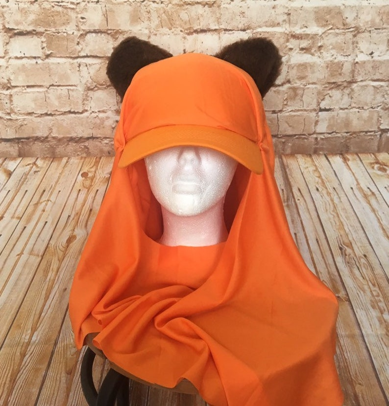 Ewok Inspired Hat  Wicket Running Costume  Adult Ewok Run image 0