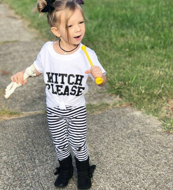 WITCH PLEASE, Kids Tee, Kids Halloween Tee, Halloween Tshirts, Witch Please