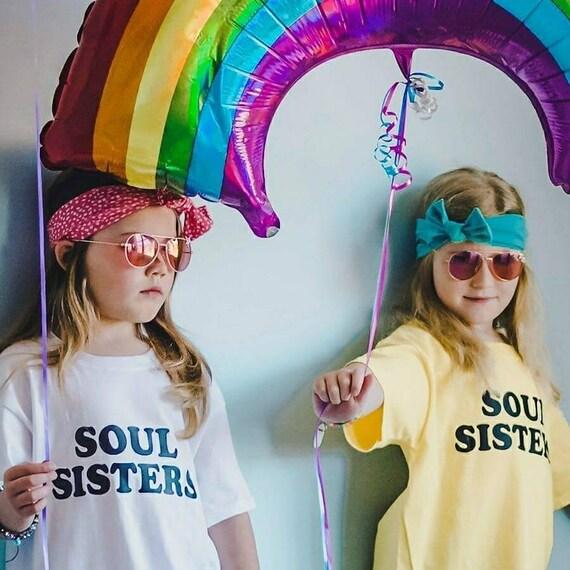 SOUL SISTERS, Kid's Tees, Soul Sisters Tshirt, Sisters Tee, Sisters Tshirts