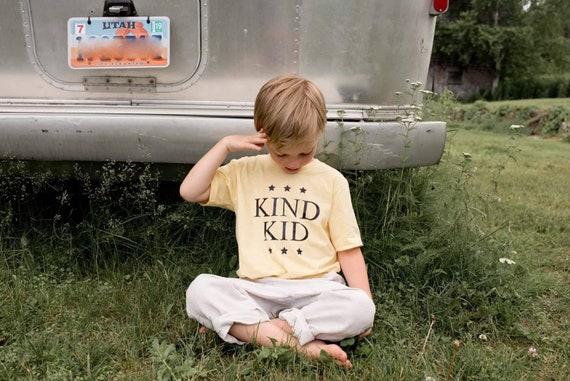 KIND KID Tshirt, Kind Kids Tshirts, Kind Kid Tops, Kindness Kids Tshirts, Kind Kid Tee