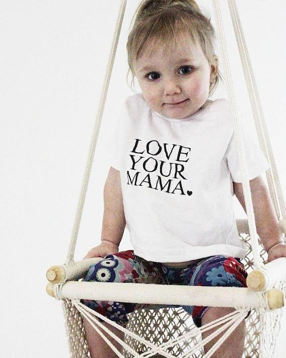 LOVE YOUR MAMA, Child's Tee, Kid's Tee, Unisex Kid's Tee, Love Your Mama Shirt, Toddler Tee, Toddler Tshirt