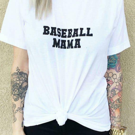 BASEBALL MAMA Tees or Tanks, Baseball Mom, Baseball Mom Tee, Baseball Mom Shirt, Baseball Moms, Baseball Shirt Mom, Baseball Mom Shirt