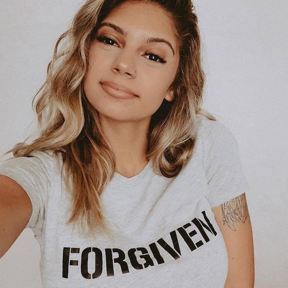 FORGIVEN Tshirt, Forgiven Tee, Forgiven Top, Forgiven Shirts