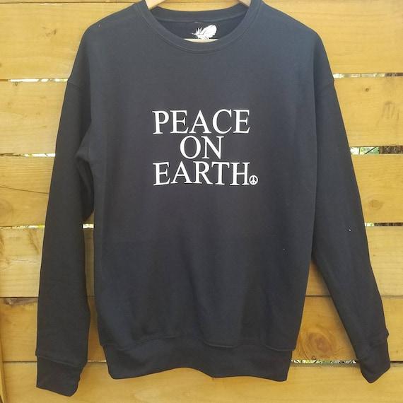 PEACE ON EARTH, Sweatshirt, Super Soft Sweatshirt