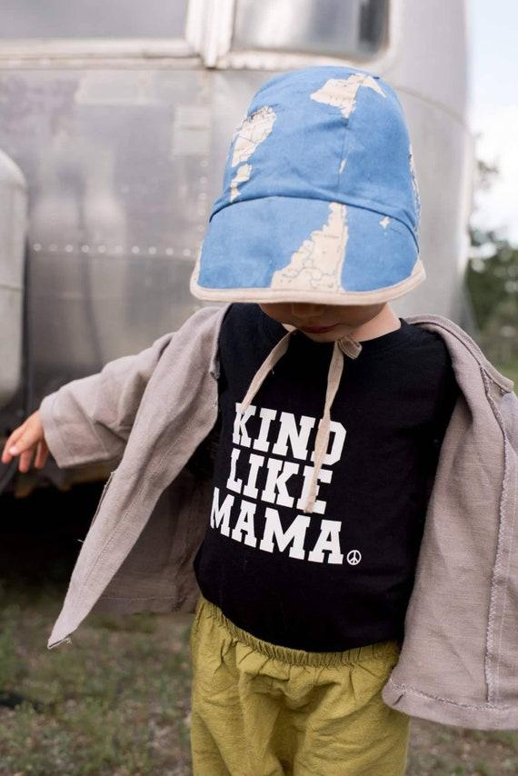 KIND LIKE MAMA Tee, Kind Kids Tees, Kindness Tshirt, Kind Like Mama Tshirt