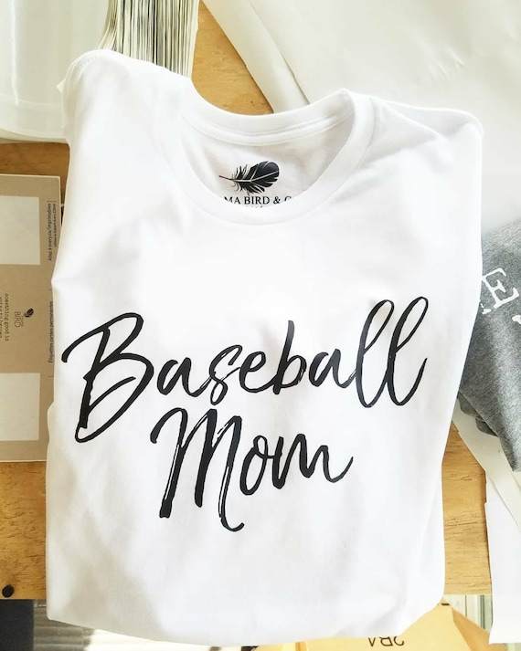 BASEBALL MOM Tees, Baseball Mom Tshirt, Baseball Mom, Baseball Tee, Baseball Mom Shirt, Baseball Moms, Baseball Shirt Mom