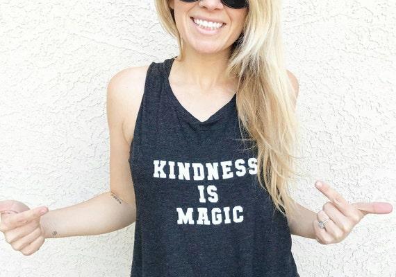 KINDNESS IS MAGIC, Kindness Tank Tops, Kindness Tank, Kindness Top, Kindness is Magic, Kind Tees, Kindness is Magic Tee, Kindness Shirt