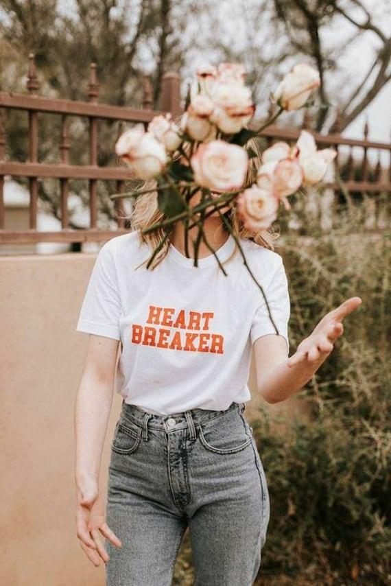 HEART BREAKER, Heartbreaker Tshirt, Valentine's Day Tshirts, Heart Breaker Shirt, Valentine's Day