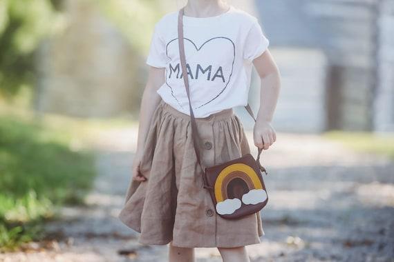 MAMA Heart, Kids Tee, Unisex Kid's Tee, Mama Child Tshirt, Toddler Tee, Toddler Tshirt