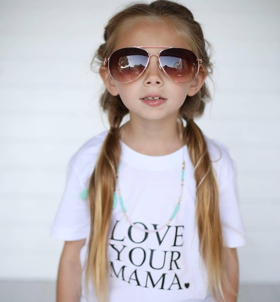 LOVE YOUR MAMA, Child's Tee, Kid's Tee, Unisex Kid's Tee, Love Your Mama Shirt, Toddler Tee, Toddler Tshirt