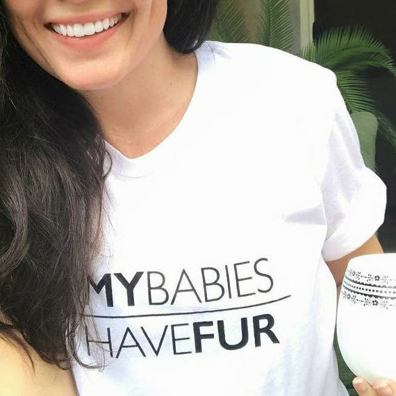 My Babies Have Fur, Fur Mom Boyfriend Tees, Fur Mama, Fur Mom, Fur Babies Tee, Fur Baby Tee, Dog Mom, Cat Mom, Fur Babies
