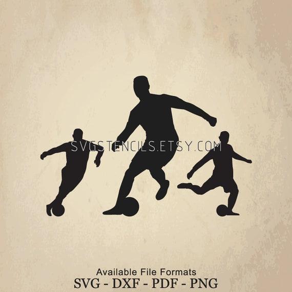 design innovativo buona consistenza economico in vendita SVG Cristiano Ronaldo Movement Stencil Silhouette Studio | Etsy