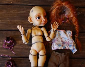 8c2da4a750b Pyu the Elven – BJD 1/6 pu, dd, art doll, ooak, elf, girl, artist  collection doll (OlVik Dolls Ukraina Kiev), Redheaded girl elf