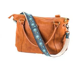 9afe18060421 Guitar bag strap Crossbody - Bag Shoulder Strap - Hippie Bag Replacement  Strap - Woven Vegan Bag Strap - Purse Strap