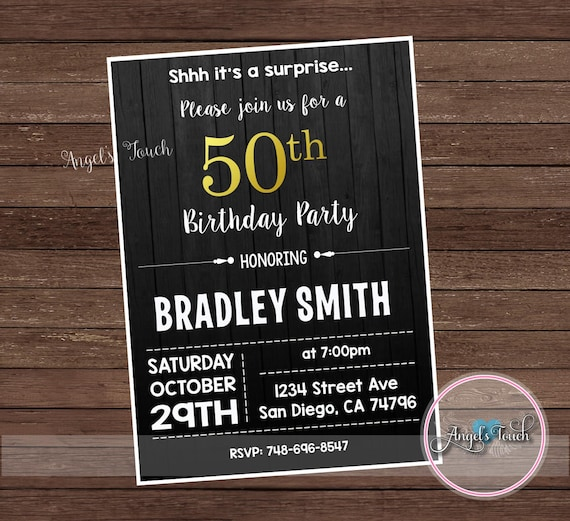 Mens birthday party invitation men 50th birthday invitation 50th mens birthday party invitation men 50th birthday invitation 50th birthday mens birthday invitation invitation for men digital file from filmwisefo