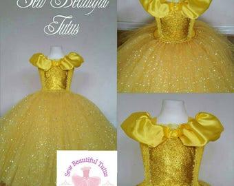 Yellow Girl Dress Etsy