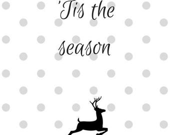 Tis the season PDF PRINTABLE