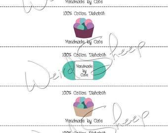 Yarn Wraps/Labels - PDF FILE ONLY