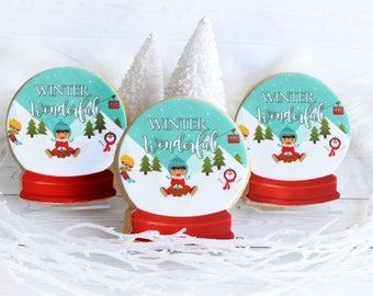 1 Dozen Snow Globe Cookies