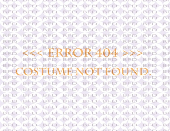 Error 404 costume not found Easy halloween costume SVG PNG EPS