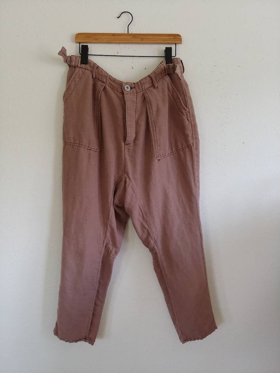 Dusty Rose Pants