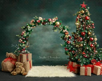 Christmas Backdrop Etsy