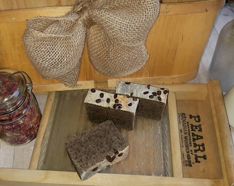 Savon EXFOLIANT naturel artisanal