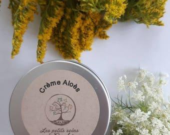 Crème Aloès / crème hydratante et apaisante /calmante
