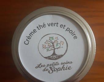 Crème hydratante corporelle thé vert et poire 125ml