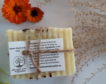 Savon naturel artisanal avec PARFUM