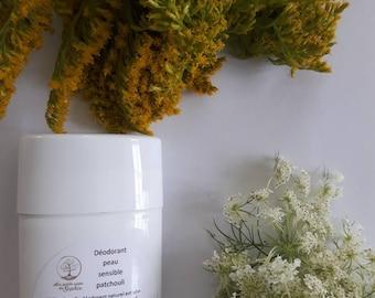 Déodorant naturel peau sensible / antisudorique naturel