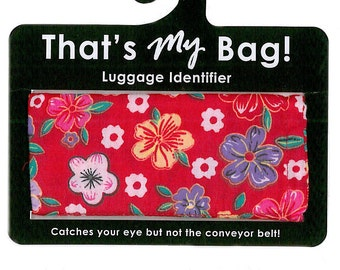 That's My Bag - Red Cherry Blossoms