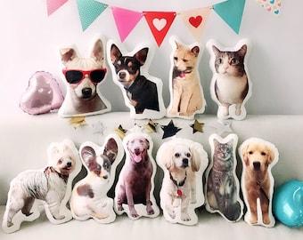 Custom 3D Pet Pillow - Personalize With Your Lovely Pet - 3D Pet Photo Pillow