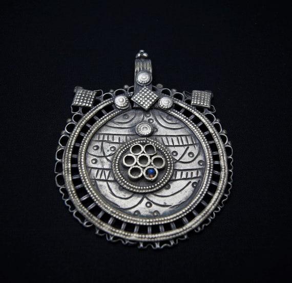 Vintage Afghan Kuchi Pendant