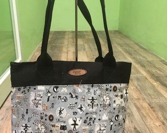 Canvas Tote Bag - Gray Colour