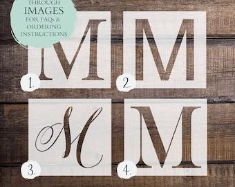 Letter stencils etsy popular items for letter stencils spiritdancerdesigns Choice Image