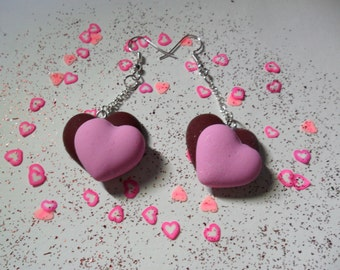 Valentines Heart Earrings